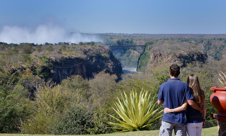 Victoria Falls hotel, vic falls view