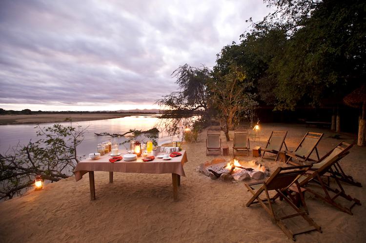 Island bush camp Breakfast