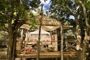 Island bush camp