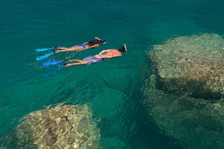 Lake snorkelling