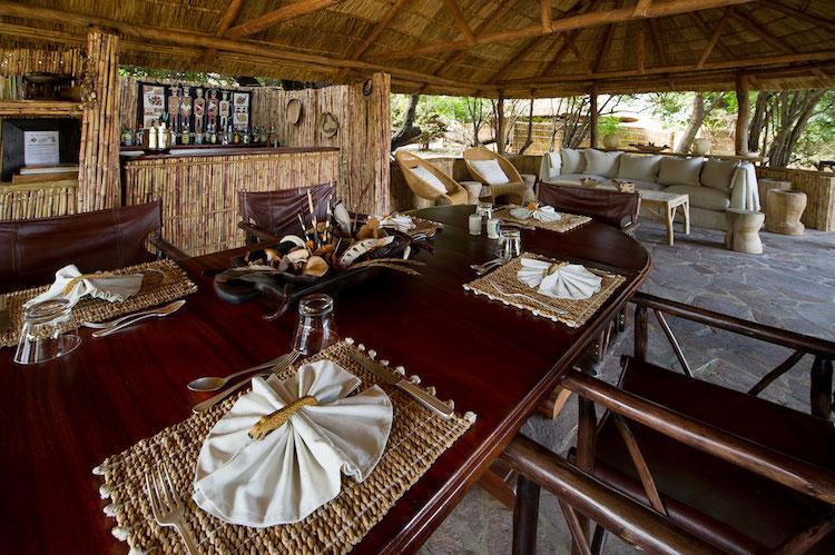Dining at Kuyenda