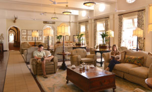 Vic Falls Hotel, main lounge