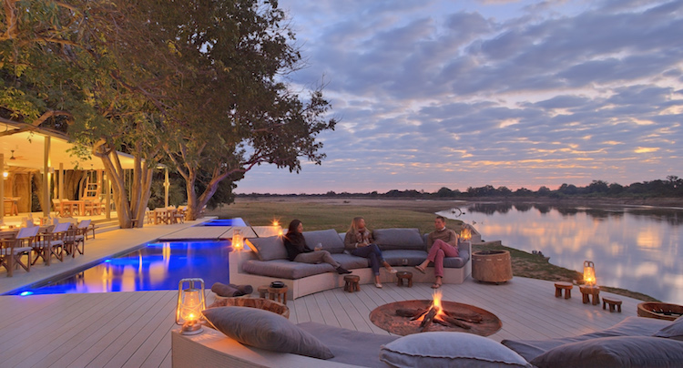 Chinzombo, luxury lodge south luangwa