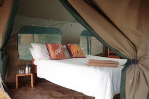 Nkonzi Camp Safari Tent Interior