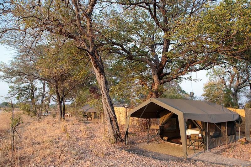 Nkonzi Camp tent