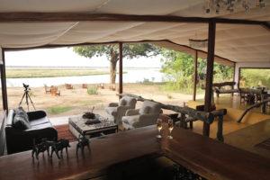 Potato bushcamp lounge area