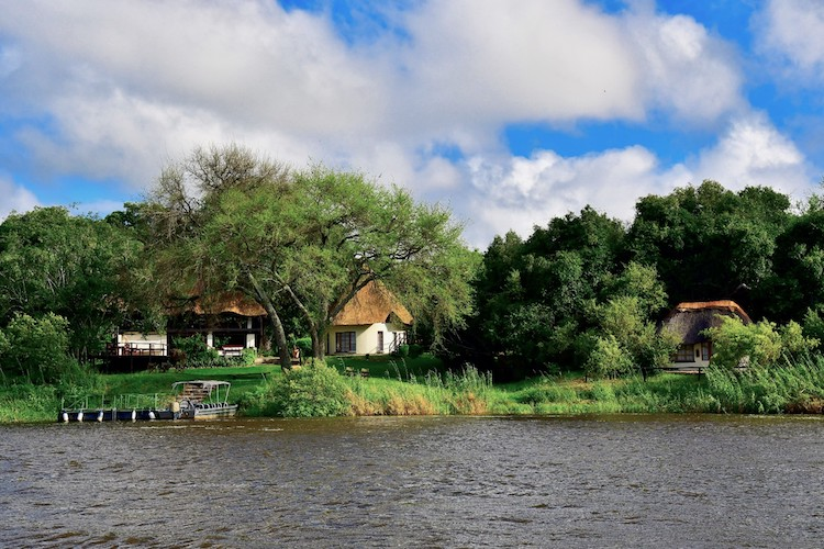 WATERBERRY LODGE FROM RIVER