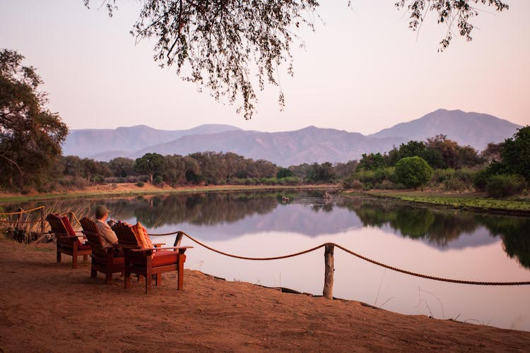 chongwe river camp view