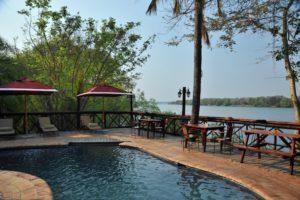 Zambezi Waterfront pool