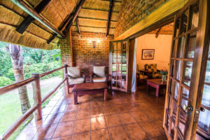 Terrace area of bedroom, Kumbali Country Lodge