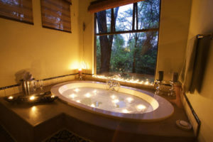 Bath at Camelthorn Lodge