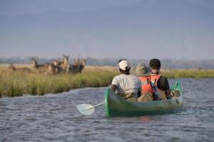 Canoeing with Zambezi Expeditions