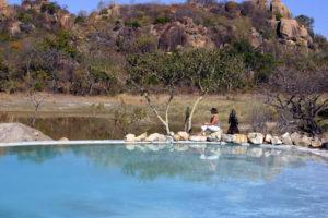 Pool at Amalinda Camp