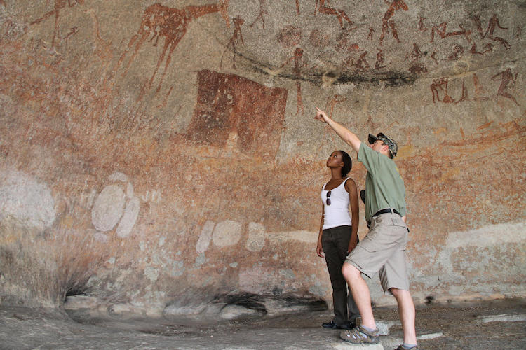 Rock paintings, Matobo Hills