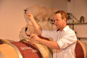 wine tasting, la petite ferme