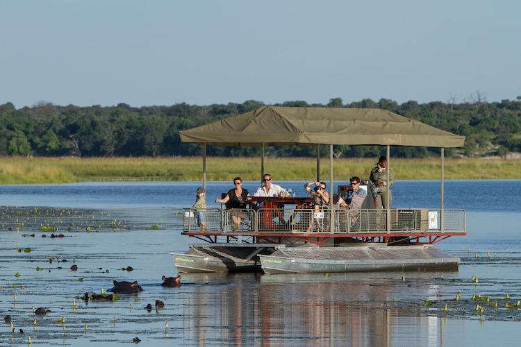 chobe game lodge family safari