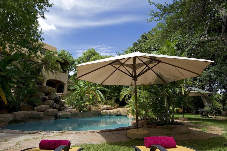 chobe game lodge, pool