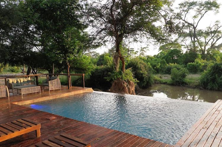 Pool at chobe