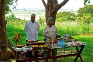 sanctuary chobe chilwero high tea