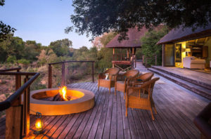 thornybush River Lodge fire pit