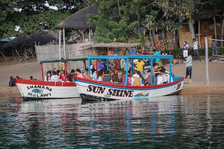 boat trip around the island