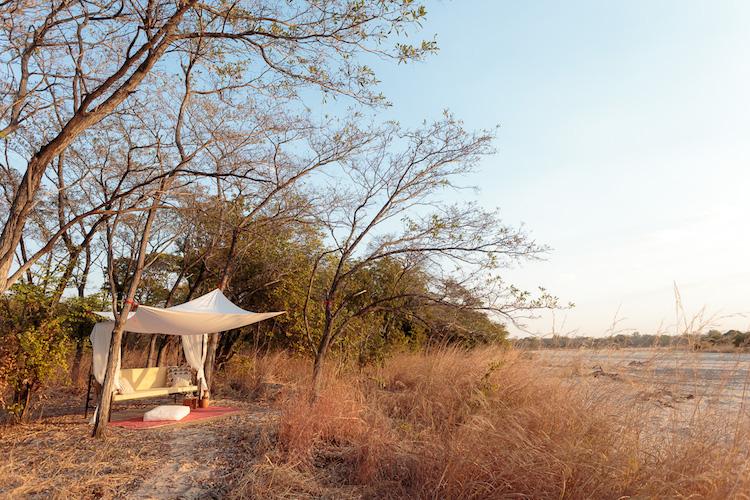 Tranquil spots, Nkonzi Camp