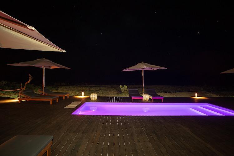 chikunto pool at night